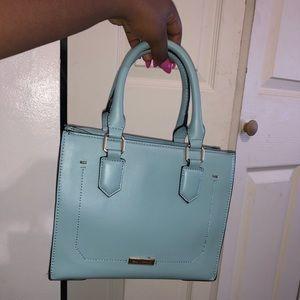Mint/blue Crossbody bag